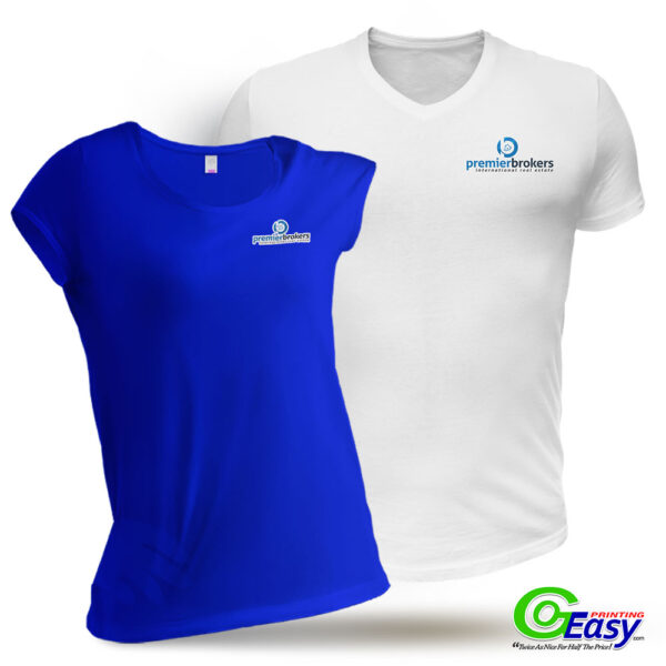 Premier Brokers Men and Women T-Shirt