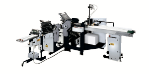 Heidelberg SSP82 Scoring Folding Machine